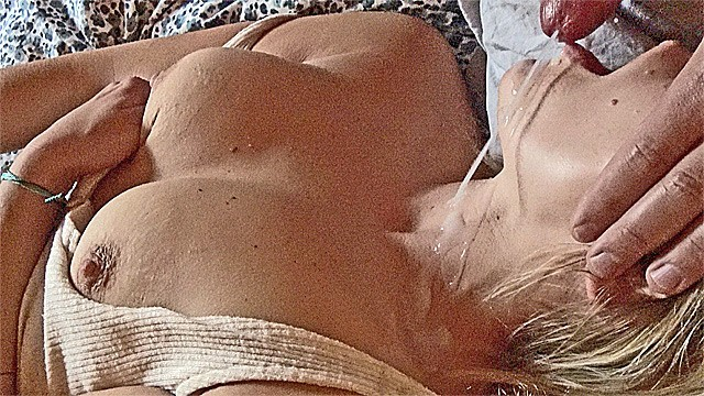 Nude with pearl necklace Small milf mouth fuck, blowjob pearl necklace big cum load squirming orgasm
