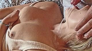Filme Sex - Kleine Milf Mund Ficken Blowjob Perlenkette Große Sperma Ladung Winden
