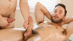 Executive Hot Shot Isaac Hardy's Deep Creamy Ass Massage With Asher Hawk