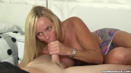 Horny Mom Sucking Soft Cock