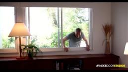 NextDoorBuddies Straight Hush Bareback! My Girl's Downstairs Man!
