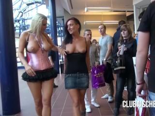 Sexy Women Lingerie Gallery Fucking, Pornocasting auf der Venus- ihr erster Blowjob mit Spermawalk B
