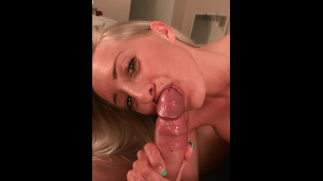 You cum in my mouth and I will play with your cum POV
