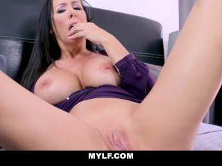 MYLFJOI - Busty Mom Edges Her Twat For You