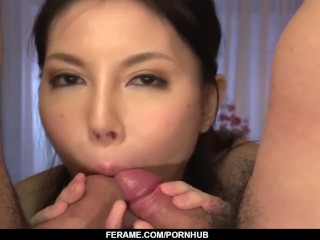 Full passion in threesome for Sofia Takigawa - - More at Slurpjp.com