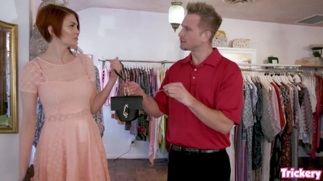 Blond store clerk sex Trickery - bree daniels tricked into sex with the store clerk