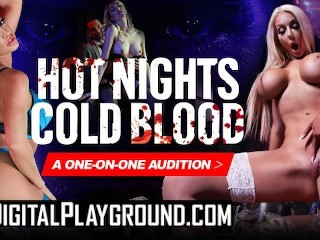 DIGITALPLAYGROUND – HOT NIGHTS, COLD BLOODED -NICOLETTE SHEA, JAY SNAKE