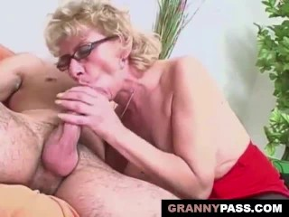 Hairy Mature Craves Some Young Cock