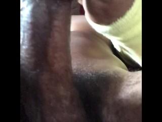 Fucking a cucumber till I bust harddddd