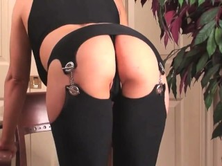 Fucking My Ass in Black Chaps
