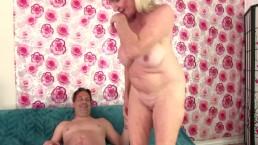 Grandma's Pussy Leah