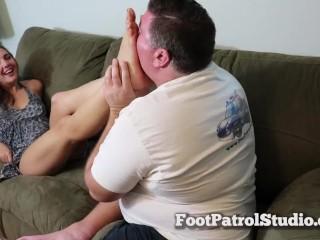 Teen Boobs Small Feet Worship, Feet Female Orgasm