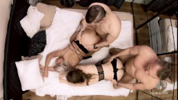 Our Best Foursome Ever Public Toilet BJ and Hot Friends Amateurs Swap Orgy