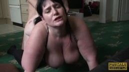 PASCALSSUBSLUTS - MILF BBW Andi XXX dicked into submission