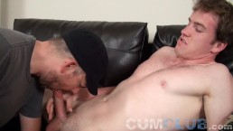 Suck, Swallow & Lick Up Every Drop of His Cum Load