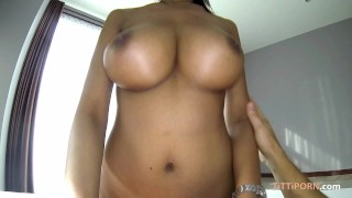 massive big boobs on hot asian thai girl