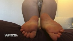 ass and foot tease