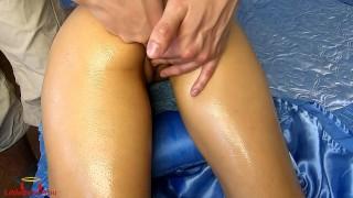 Teen Multiple Orgasam Oil Massage - LittleDevil4You