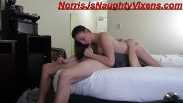 Melanie Hicks & Norris J Hotel romp while I was in LA partying it up :)