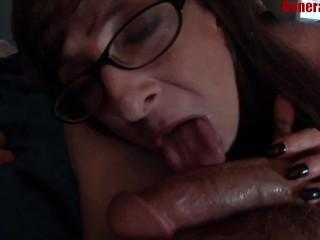 Sluts And Drugs Sexy Milf Marie Sucking A Big Happy Dick, Amateur Big Dick Blowjob