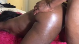 My Baby's Beautiful Basketball Booty...First Anal