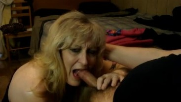 """MILF BEGS """"PLEASE DON'T CUM IN MY MOUTH"""""""