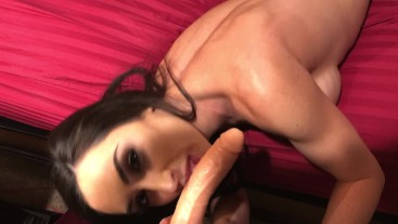 POV Fathers Day with Step Dad Creampie