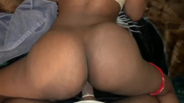 Twerking with a dick in me