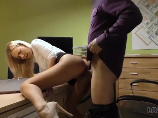 Top 10 Sexiest Butts Fucking, LOAN4K. agent drills mouth, pussy, and asshole of blonde In office Bab