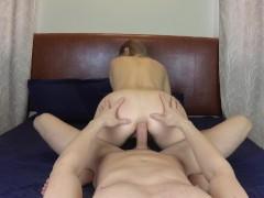 Hot Girl Wants Hard Ass Fuck Ride and much Cum in Asshole . JessyJek
