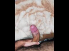 Fucking my blanket until I cum a big load on it - Camilo Brown