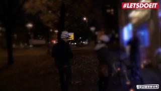 LETSDOEIT – German Teen Vanda Angel Rides A Big Cock In The Bus