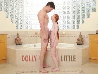 Butt Naked Fat Ases Abuse Me - Redhead Teen Dolly Little Gets Ravaged By Bruce Venture,