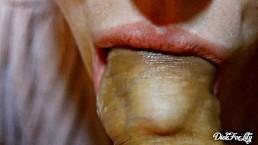 Amazing tongue étudie mon prépuce - jour 3 Bj & prépuce Month Marathon