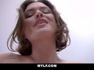 MYLF – Brunette MILF Bounces On Your Cock