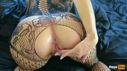 Clit And Pussy Rubbing Tease With Oil