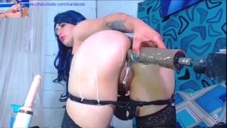 Karla's Extreme Fucking Machine