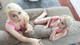 StepSiblings -Blonde Teens Have Fun Seducing Stepbro