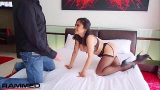 Rammed Busty Kaylani Lei Unscripted RAW hardcore sex