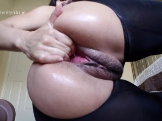 Crazy! Giant Egg Birthing, Pussy Stretching, & Self Fisting Slut Pussy