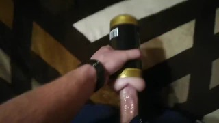 Dirty Talking Toy Fuck - cummimg deep inside you