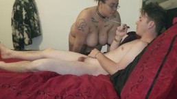 BBW Submissive gets a pounding with an EXPLOSION