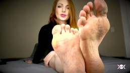 Olivia Rose Dirty Feet and Soles JOI