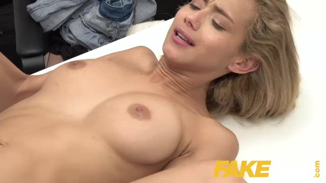 Fake Agent Cute Colombian Veronica Leal Deepthroats Big Cock in Casting