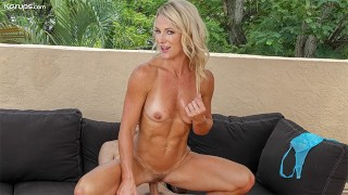 Fit MILF Sydney Hail Gets Caught By The Neighbor & Cheats On Her Husband