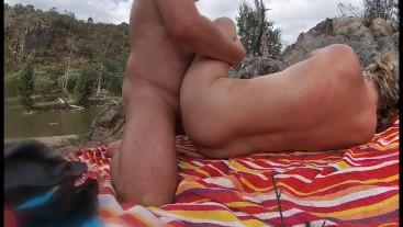 Nude Beach Fingering Fucking Female Orgasm Double Cumshot