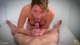 Sloppy Blowjob in POV