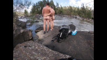 Our Big Nude Outdoor Sex Adventure