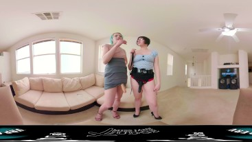 Strapon Secretaries- Mandatory Office Retreat VR 360
