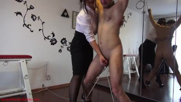 I decide when you cum and how unpleasant it will be!